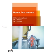 Global Mining Deals 2012 Review 2013 Outlook