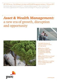 20th Annual Global CEO Survey - Asset & Wealth Management key findings